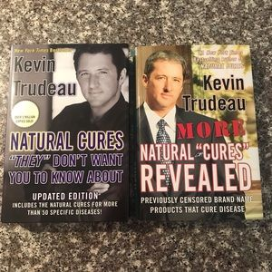 "LOT of Two ""Natural Cures""  Books By Kevin Trudeau"